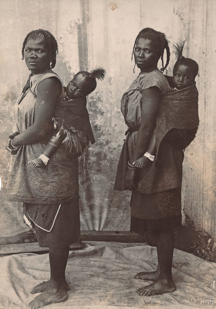 19 C 1500 Unidentified Zulu Mothers