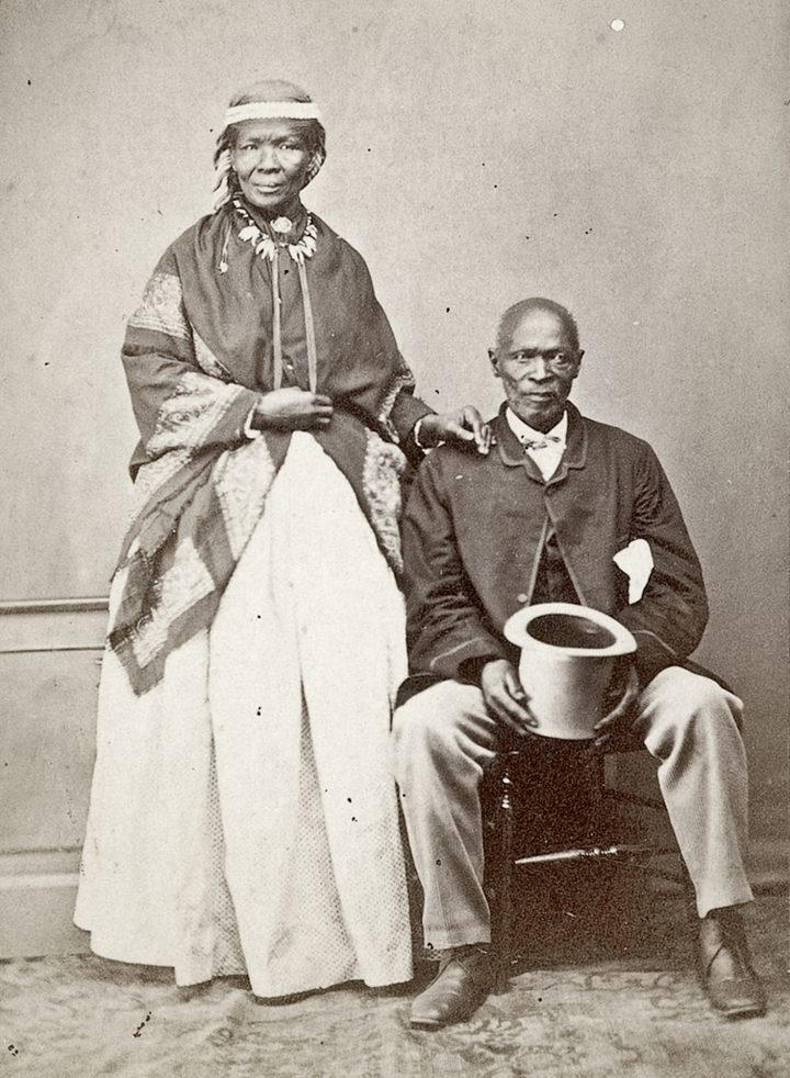 19 C 1748 Moore Macomo and his chief wife cropped