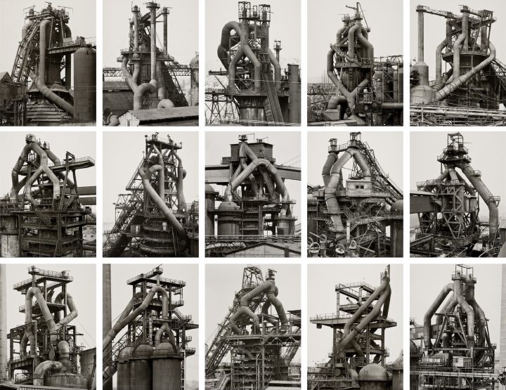 BHB-404_Walther Collection_Becher Bernd Hilla_Hochoefen-Blast-Furnaces_grid_1969-95