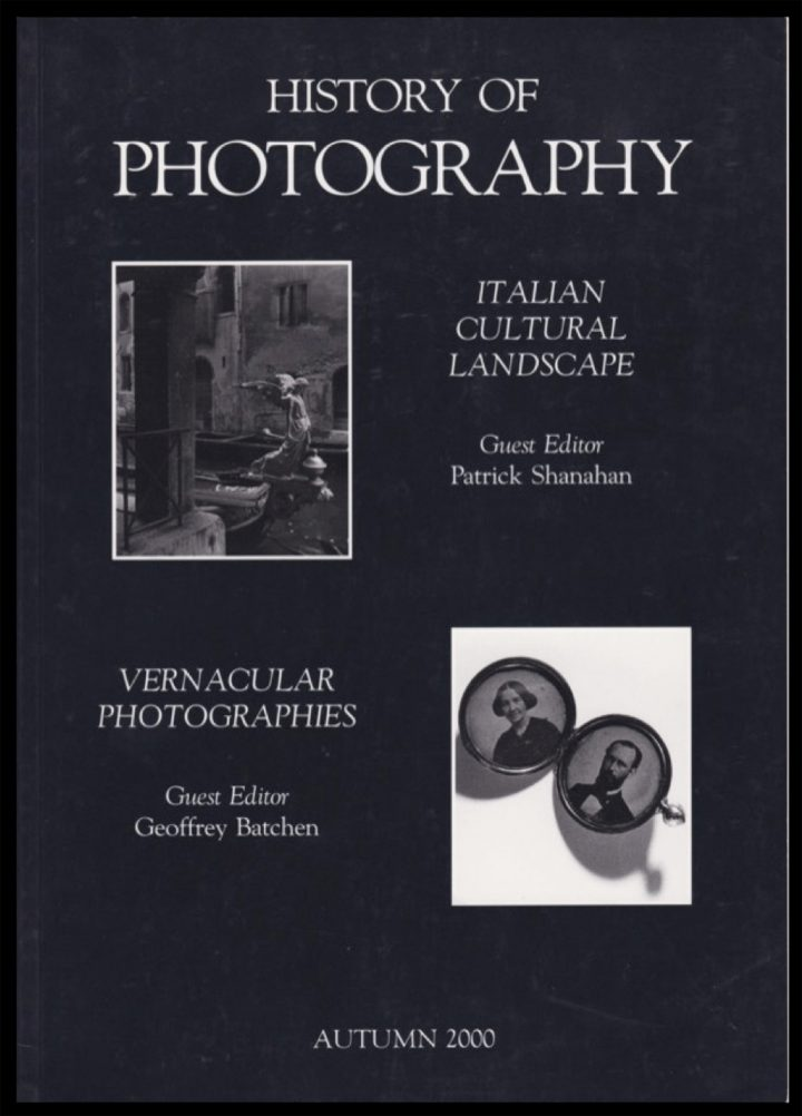 Historyofphotography Batchen
