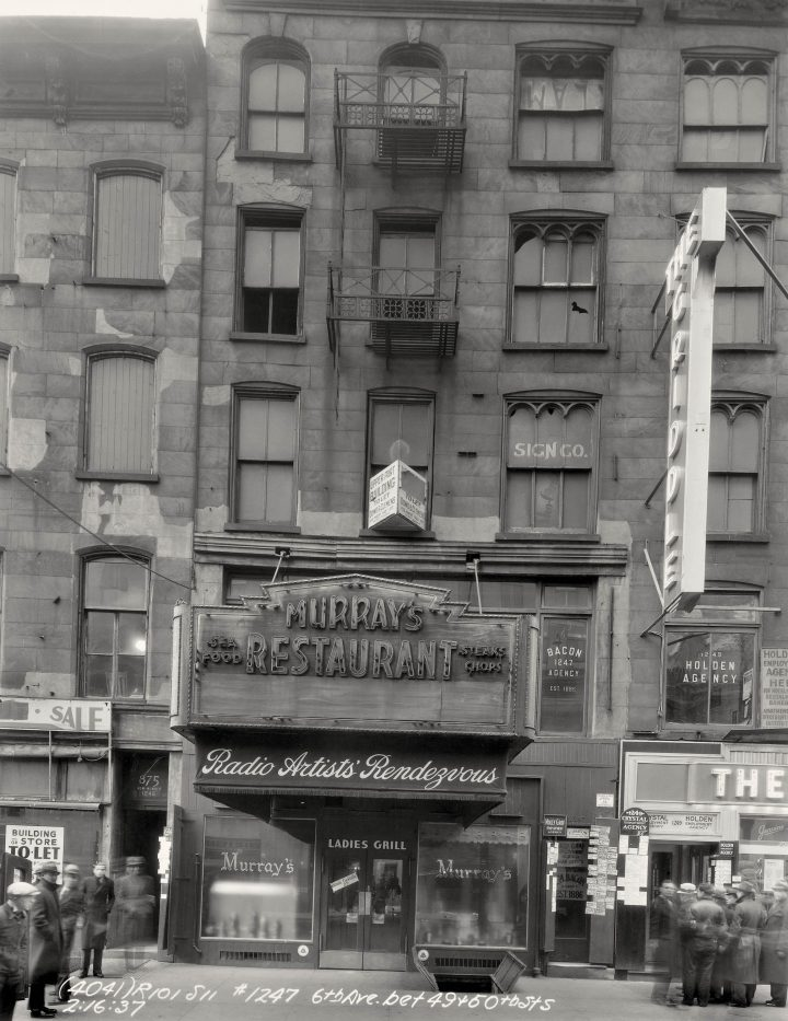 Vp 2383 Walthercollection Unidentifiedphotographer Storefrontsalong6Thavenue 1936 37 W20