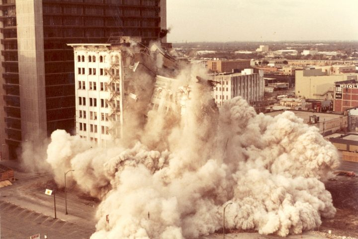 VP-2510.11_Unidentified Photographer_Building Implosion