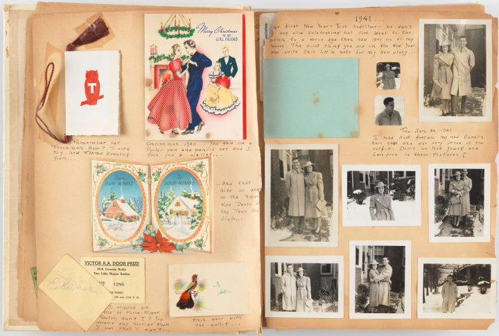 VP 2716.04 WaltherCollection BeckerVirginia ScrapbookLoveStory 1941-43