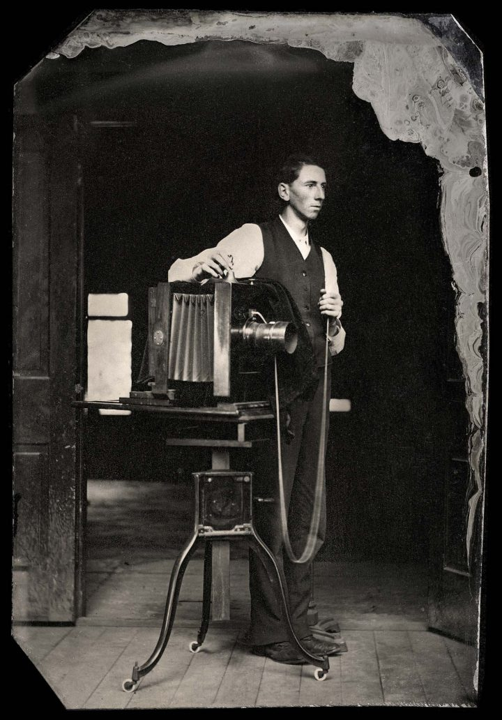 Walthercollection American Tintypes Professions Photographer