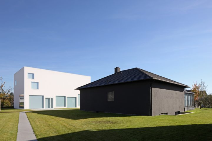 Walthercollection Neu Ulm Burlafingen Architecture Blackhouse Connie Van Dgrachten